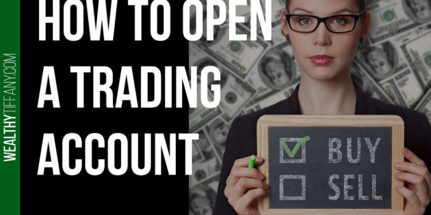 How to open a brokerage account tutorial