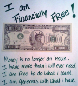 i am financially free